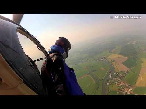 Wingsuit Landing Without a Parachute