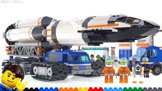 LEGO Rocket Assembly & Transport Reviewed! 👨🚀👩🚀 60229