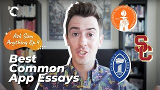 youtube video thumbnail - Caltech, USC & Pomona: My Favorite Common App Essays | Ask Sam Anything Ep. 4