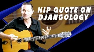 The I Love You Baby Quote On Djangology - Gypsy Jazz Guitar Secrets