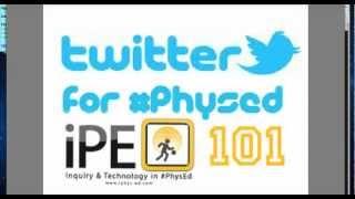 Twitter for #PhysEd 101 - Using Tweetdeck