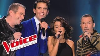 The Voice 2014│Garou Mika Jenifer Florent Pagny - Bohemian Rhapsody (Queen)│Blind audition
