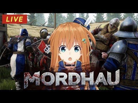 【Mordhau /雷擊劍鬥】中世紀64人多人大混戰!戰地記者奈奈已上線!【虛擬Youtuber】