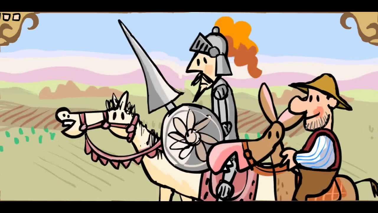 Cuentos infantiles El ingenioso hidalgo Don Quijote de la Mancha