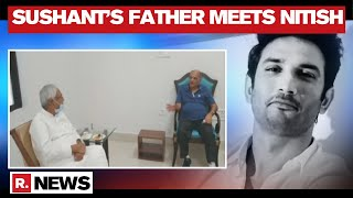 Sushant Singh Father KK Singh Meets Bihar CM Nitish Kumar In Patna - Download this Video in MP3, M4A, WEBM, MP4, 3GP
