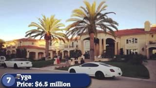 20-ка очень дорогих домов известных рэперов