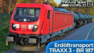 TRAIN SIM WORLD 2 – Kommen wir den Berg hoch?   TRAXX 3 – BR 187 Bombardier   Rhein-Ruhr Osten: TSW2