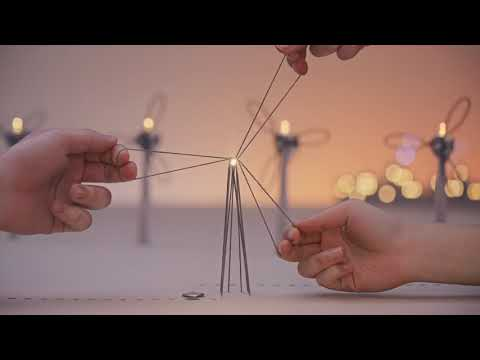 This Tiny World is Lit Up by a Single Thread