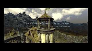Skyrim Mod: Wind District Breezehome
