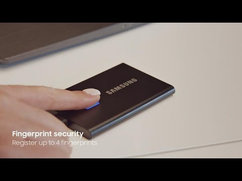 Samsung Portable T7 Touch (1000GB)