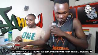 fuliza style selector Denoh mcee D majail shaffling the best reggae