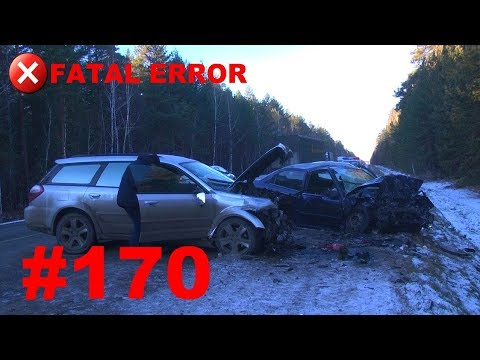 🚘🇷🇺[ONLY NEW] Russian Car Crash Compilation (12 November 2018) #170