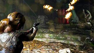 SHADOW OF THE TOMB RAIDER Gameplay Demo (E3 2018) - dooclip.me