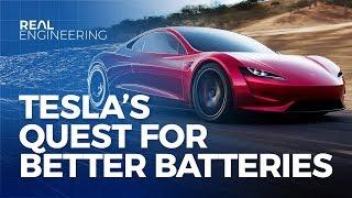 Tesla's Quest for Better Batteries