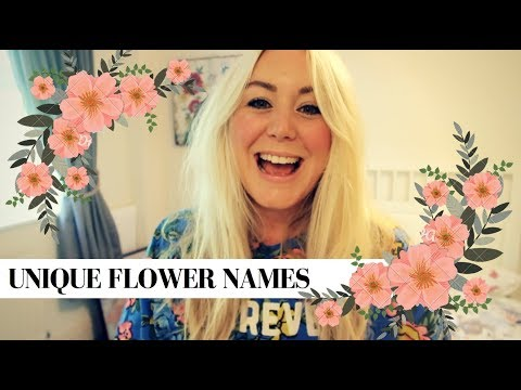15 PRETTY & UNUSUAL FLOWER BABY NAMES | SJ STRUM BABY NAMES