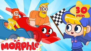 Daddy Vs Mortimer THE RACE! My Magic Pet Morphle | Cartoons For Kids | Morphle TV | BRAND NEW