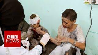 Saudi-led air strike kills 29 children in Yemen - BBC News