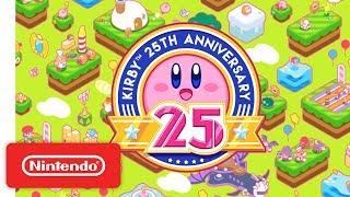 Kirby 25th Anniversary Trailer - dooclip.me