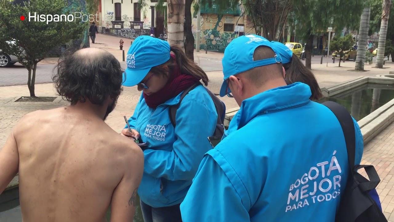Así se rescatan indigentes en Bogotá