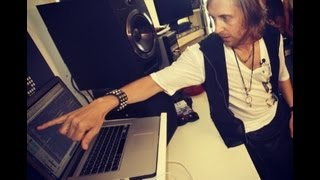 burn studios residency 2012 - David Guetta Masterclass