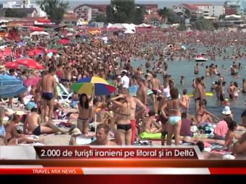 2.000 de turisti iranieni pe litoral si in Delta