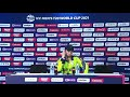 Andy Balbirnie Ireland's captain speaks to the media conference after losing to Namibia #T20WorldCup - Video