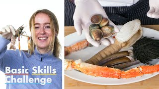 50 People Guess Shellfish Types   Epicurious
