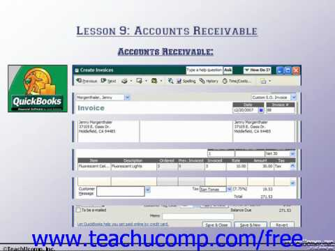 Accounting Tutorial Accounts Receivable Training ... - YouTube