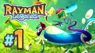 Rayman Legends | The Legend Begins! - 1 (5-Player)