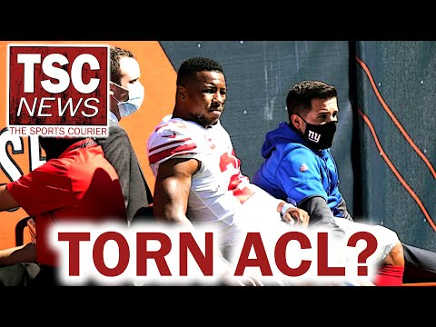 Major NFL Week 2 Injuries – Saquon Barkley Out for Season?!