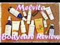 Melvita Bodycare Review - BODY SCRUB MILK CONTOURING SERUM LIP BALM ARGAN OIL WITH GERANIUM