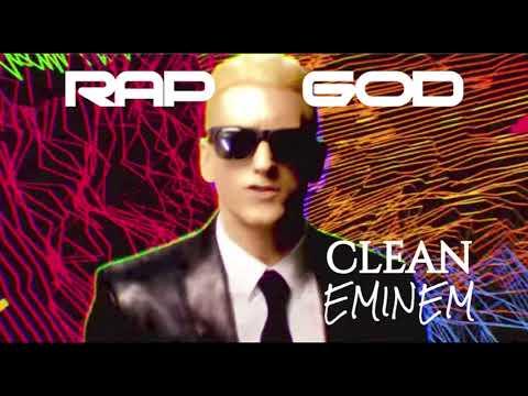 Eminem - Rap God Lyrics [CLEAN EDIT] - игровое видео