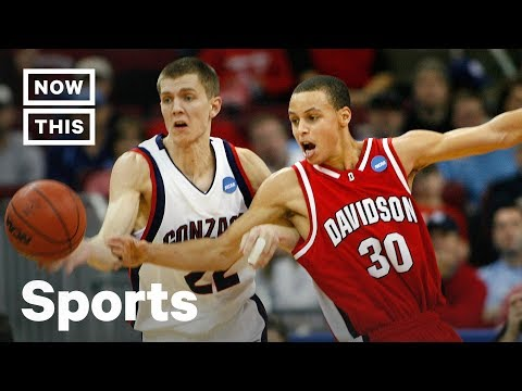 Remember When: Steph Curry's NCAA March Madness Magic | NowThis