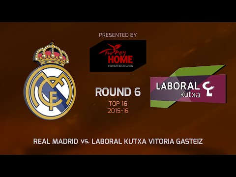 Highlights: Top 16, Round 6, Real Madrid 68-77 Laboral Kutxa Vitoria Gasteiz