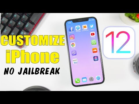 How To CUSTOMIZE iPhone On iOS 12 – 12.1.2 (NO Jailbreak)