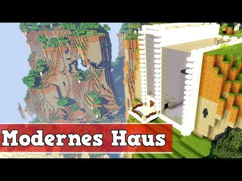 Wie Baut Man Ein Modernes Haus In Minecraft Minecraft Modernes Haus - Minecraft haus bauen deutsch
