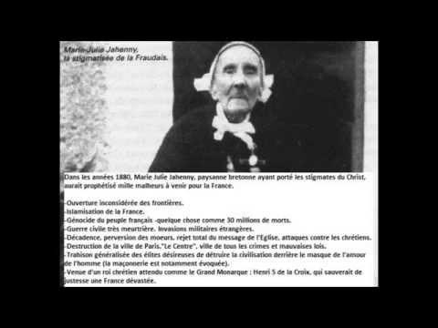 Les prophéties de la Fraudais de la stigmatisée Marie-Julie Jahenny. 0
