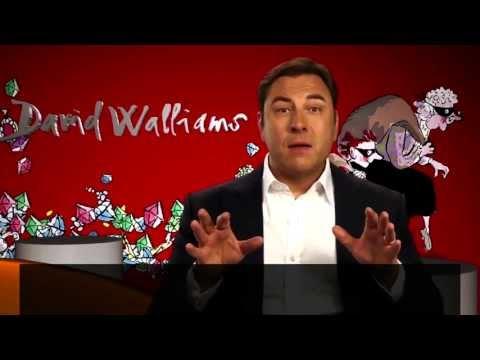 David Walliams lê trecho do livro Vovó Vigarista