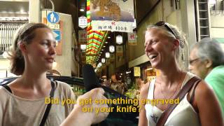 Travelers' Voice of Kyoto: NISHIKI MARKET Area Interview 005