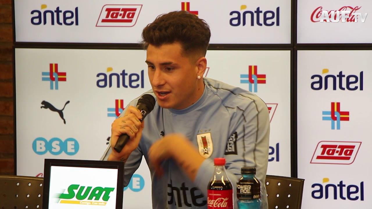 Conferencia de prensa de José María Giménez - 31/5/2019