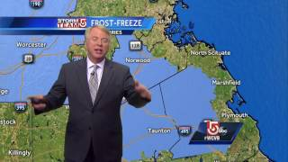 Frost advisories overnight: Mike's forecast