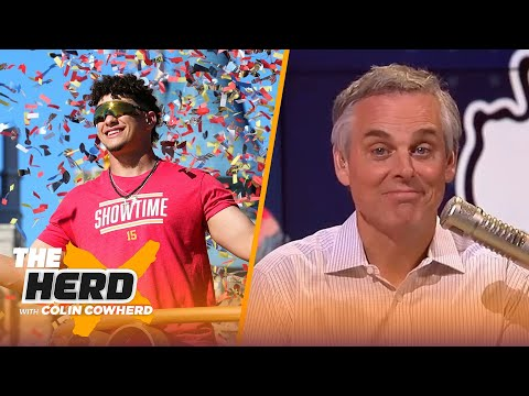 Colin reacts to Patrick Mahomes' historic contract & what it means for Dak Prescott   NFL   THE HERD