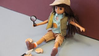 Lottie, chercheuse de fossiles