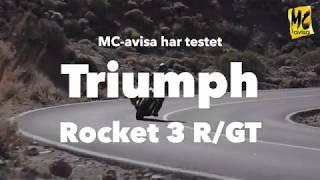 Vi har testet nye Triump Rocket 3 R / GT