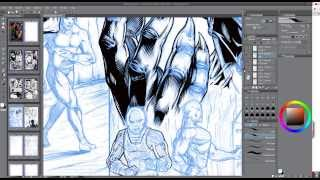 Manga Studio and Wacom Brush Settings Tutorial - Narrated - Video