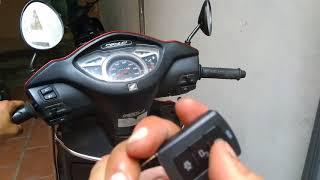 Hướng dẫn sử dụng khóa chống trộm xe máy Maclocks