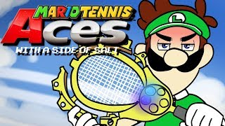 Mario Tennis Aces With A Side Of Salt
