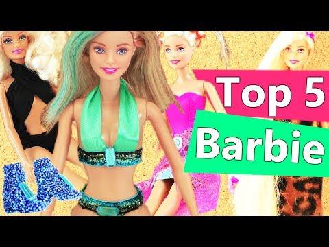 Top 5 Barbie Kleidungs Ideen | unsere besten DIYs | Barbie Zubehör | DIY Kids Club