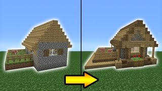 Minecraft Tutorial: How to Transform a Village Butcher Shop MinecraftVideos TV