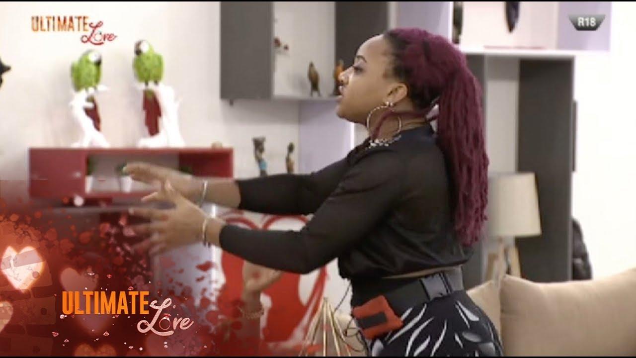 Ultimate Love 2020 Friday 21st February - Cherry, Presh Talker in disagreement